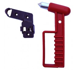 Emergency Exit Glass Breaker Hammer (Square Model) (Happich Type)