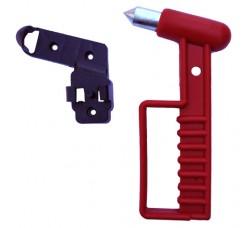 Emergency Exit Glass Breaker Hammer (Square Model) (Happich Type)