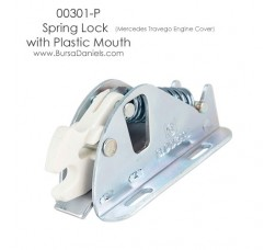 Spring Lock with Plastic Mouth 00301-P