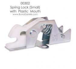 Spring Lock (Small) with Plastic Mouth 00302