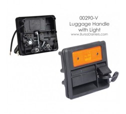 Handle with Lamp for Luggage Door / Motor Compartment etc... 00290-V