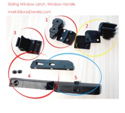 Catalog of Latch for Windows, Glass Handle