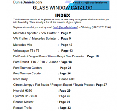 Catalog of Glass