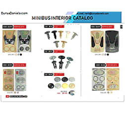 Catalog of interior Parts