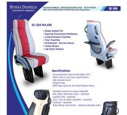 Catalog of SEAT for Minibus/Bus/Van