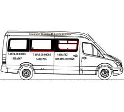 Mercedes Sprinter Sliding Glass (SCHOOL BUS WINDOW)  (MRS00034 SET)
