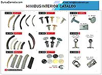 Catalog of Interior Items for Bus/Van/Minibus at BursaDaniels.com